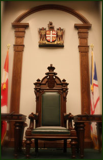 The Speaker's Chair